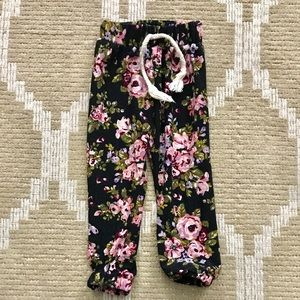 Bottoms - Baby floral pants